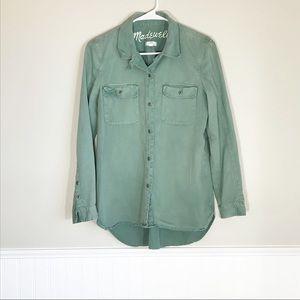 Madewell Boyfriend Button Down Shirt